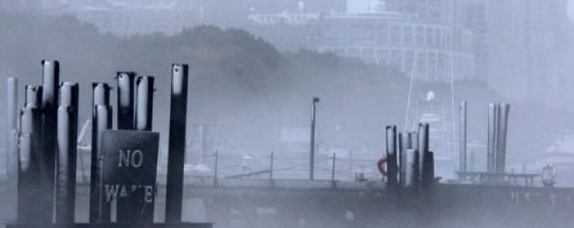 Une tempête à New York